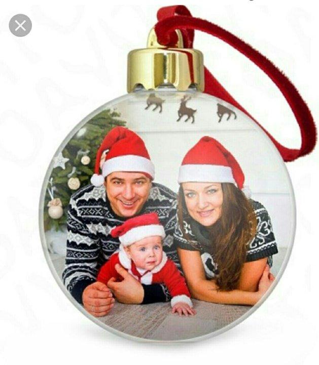 воспользоваться новогодний акриловый шар с вашим фото начинается