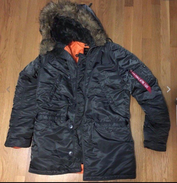 9b06a4ab99439 Парка Alpha Industries N-3B Slim Fit – купить в Новосибирске, цена ...