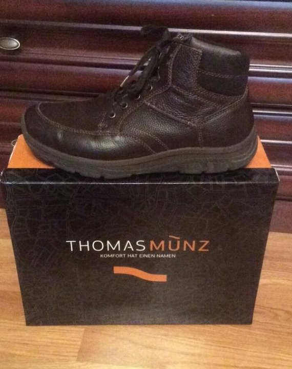 94c2837e2 Москва. Зимние мужские ботинки thomas munz (германия). Фото 3.