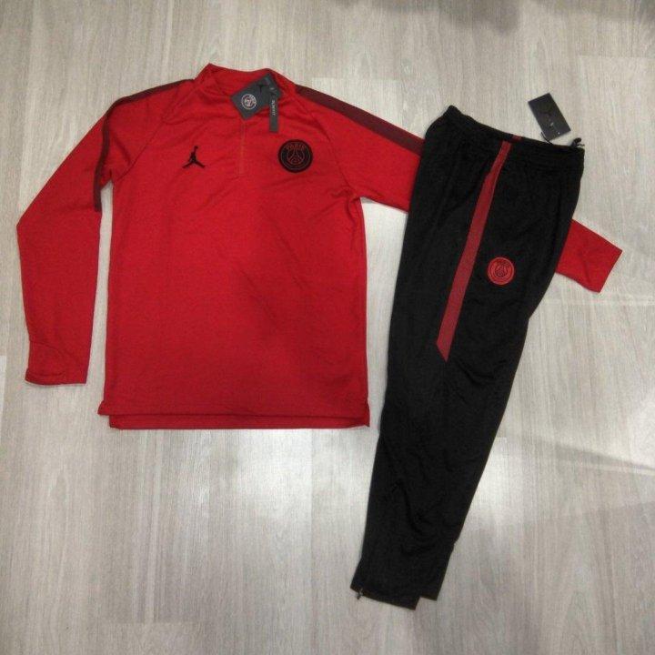 44a1e3a0 Спортивный костюм: Air Jordan, ПСЖ 2018-19 – купить в Перми, цена 3 ...
