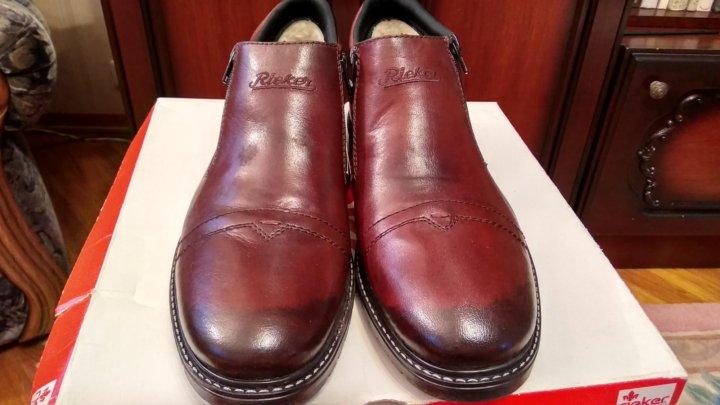 4f3d6a90d Зимняя мужская обувь Рикер(rieker) – купить в Москве, цена 3 300 руб ...