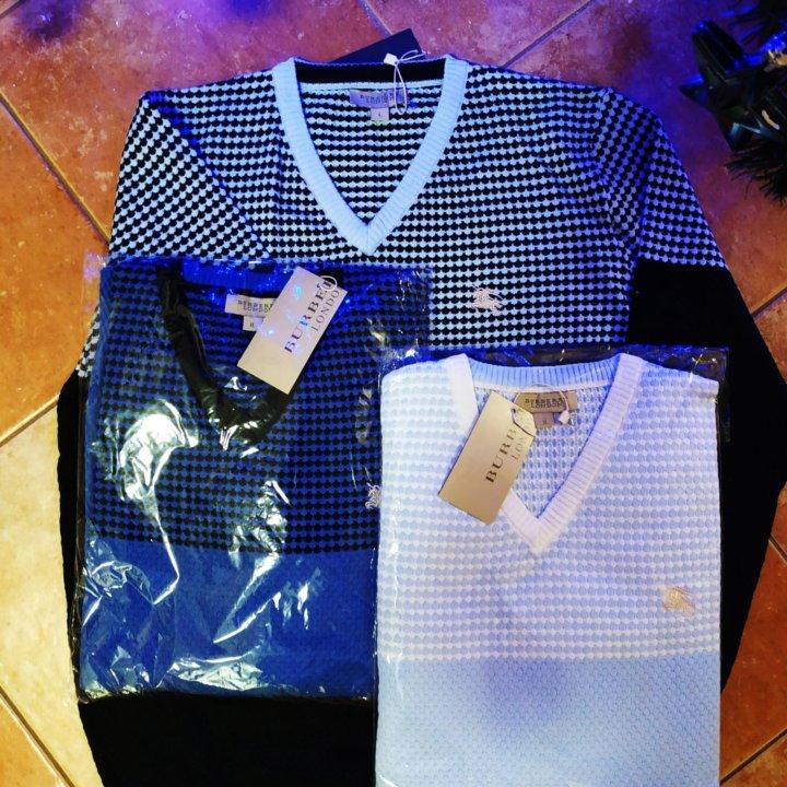 Мужской свитер Burberry – купить в Санкт-Петербурге, цена 2 300 руб ... 321edf5d04b