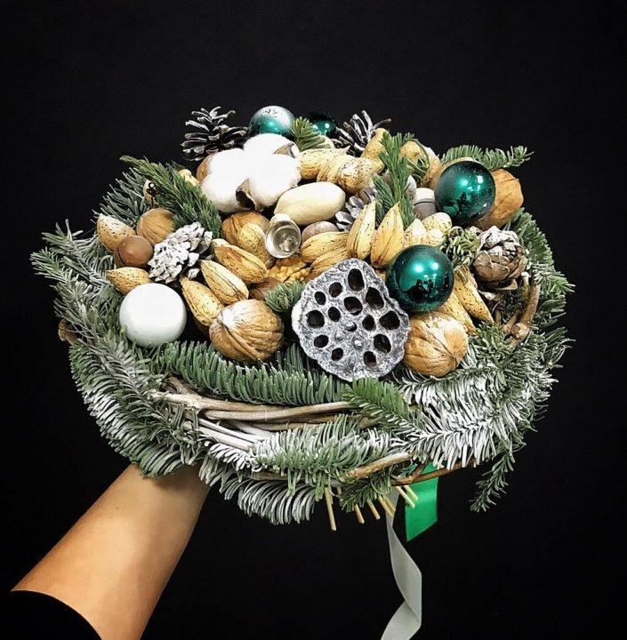 Цветы, букеты из елки владивосток
