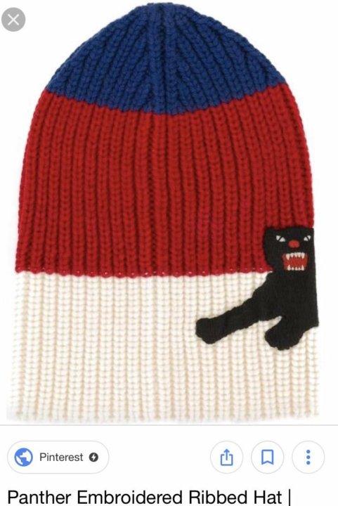 Шапка Gucci Wool Hat with panther оригинал шерсть – купить в Москве ... f427be61ea2