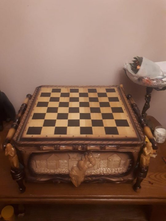 деревянные шахматы ручной работы купить в москве цена 15 000 руб