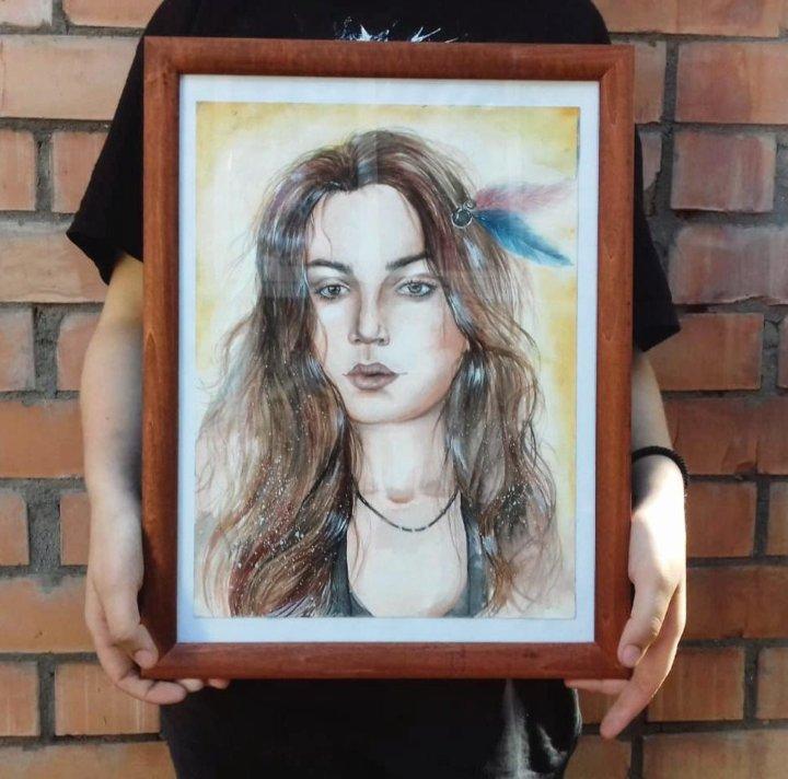 Интернет портрет из фото нее столь
