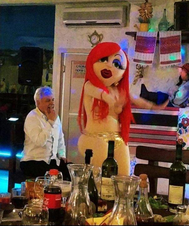 Тамада кукольный стриптиз