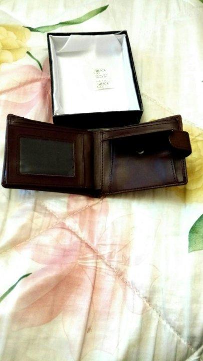 27282fc7c031 Новый мужской портмоне из тонкой кожи – купить в Москве, цена 350 ...
