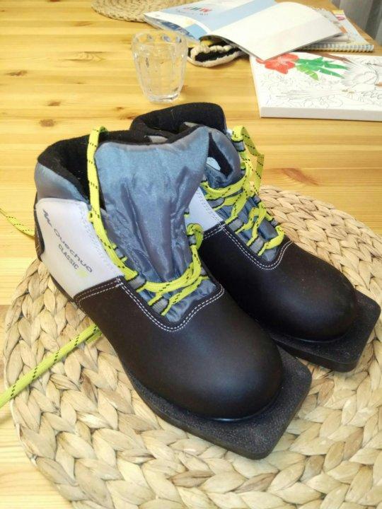 Лыжные ботинки 32 размер – купить в Щербинке, цена 500 руб., дата ... 79a433379f2