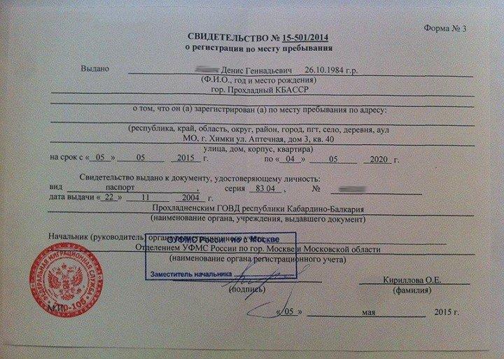 Временная регистрация пермь ленинский район кем заполняется медицинская книжка