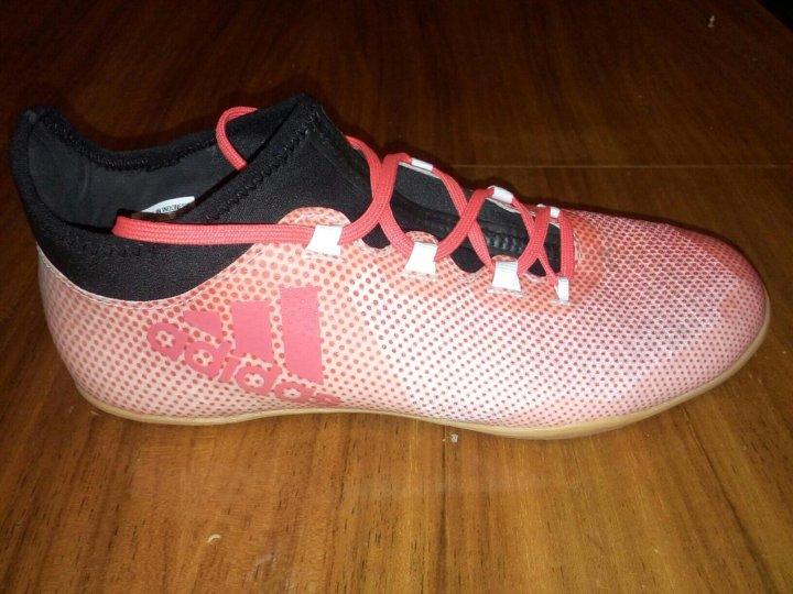 8f780e3e р. 40) футзалки Adidas X Tango 17.3 – купить в Москве, цена 2 400 ...
