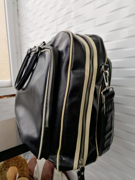 17eeae006ba6 Большая виниловая сумка Fred Perry – купить в Москве, цена 1 900 руб ...