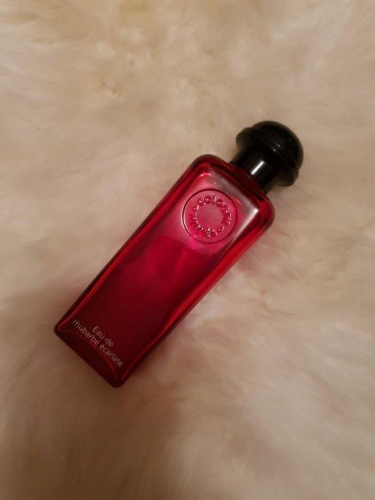 парфюм Hermes Eau De Rhubarbe Ecarlate купить в москве цена 3 200
