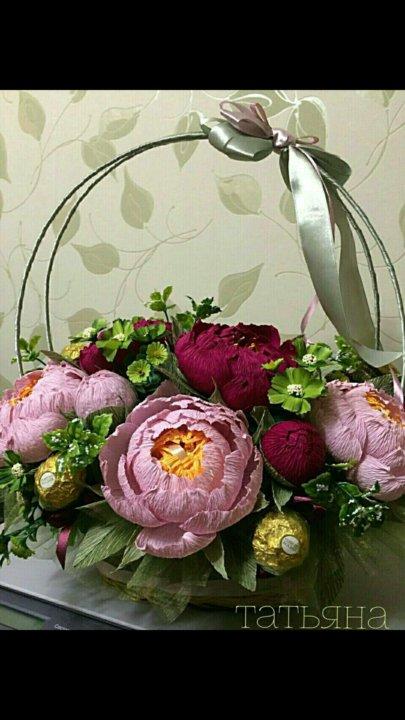 22170c60d9fc Сумочка с розами из конфет и другие работы – купить в Екатеринбурге ...