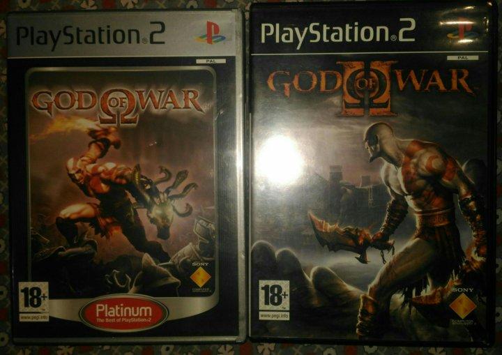 God of War 1,2 лицензия на PlayStation 2 – купить в