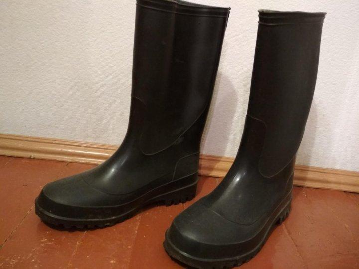 6eff0e7f8 Сапоги резиновые – купить в Екатеринбурге, цена 350 руб., дата ...