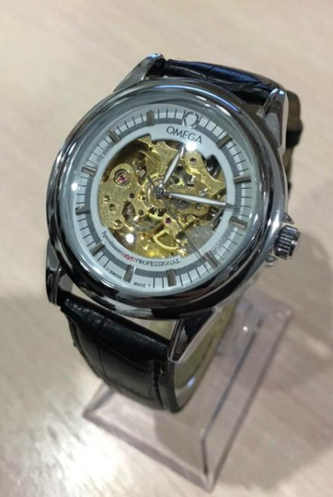 331adf7b1c05b5 Мужские Часы Omega Skeleton – купить в Челябинске, цена 1 600 руб ...