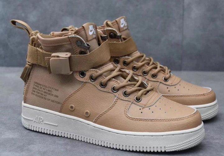 acaf1edb Кроссовки Nike SF Air Force 1 Mid – купить в Омске, цена 4 490 руб ...