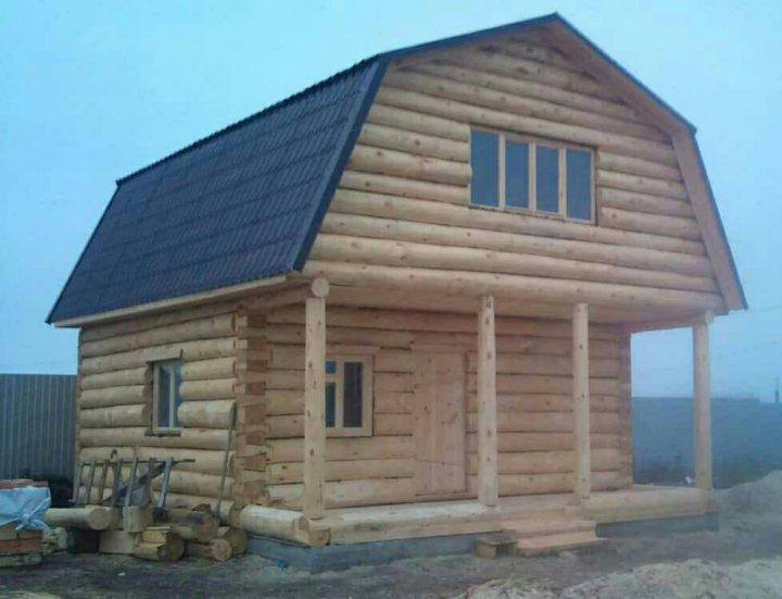 замки дом из сруба с ломаной крышей фото стиль кухонного гарнитура
