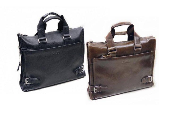 b241f7c26467 Мужская кожаная сумка Dunhill А4 15,6 black coffee – купить в Москве ...