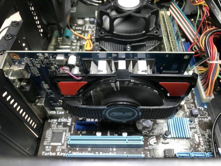 4 ядра/GT 730 2Gb/DDR3 6Gb для GTA5 – купить в Новосибирске, цена 13