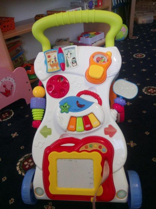694b5208b2a6 Каталка-ходунки Happy Baby JUNIOR – купить в Москве, цена 1 000 руб ...