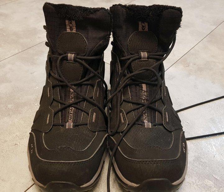3ea6e71a Супертеплые неубиваемые ботинки Salomon Elbrus WP – купить в Санкт ...