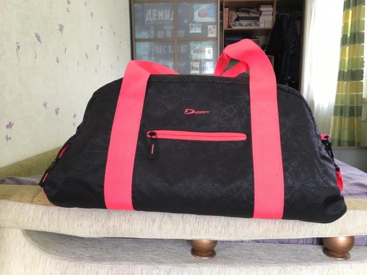 c3bd0fc05183 Спортивная сумка Demix – купить в Новосибирске, цена 500 руб ...