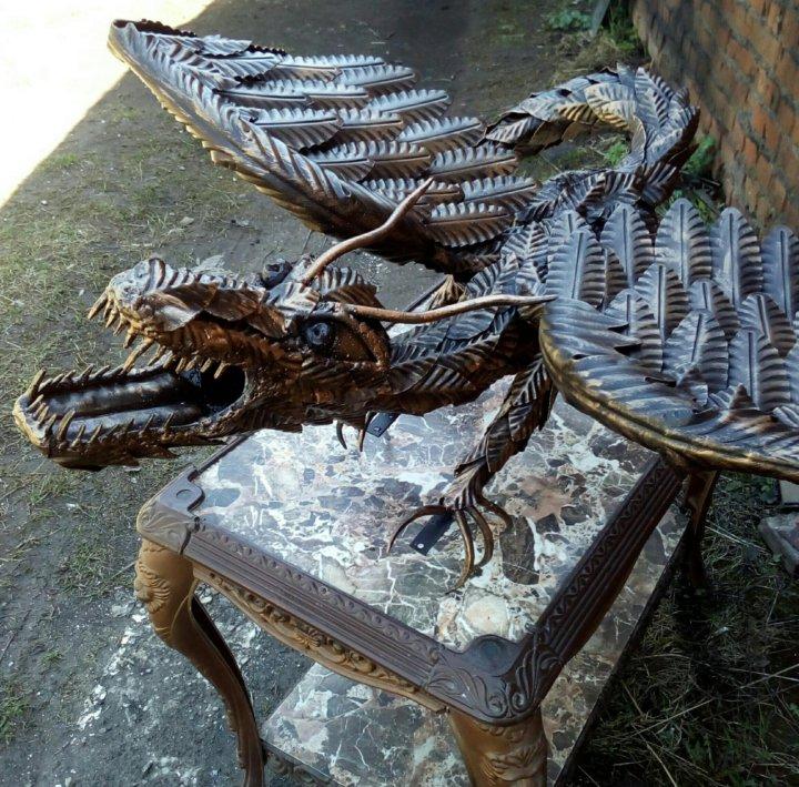 дракон кованый фото можете быть