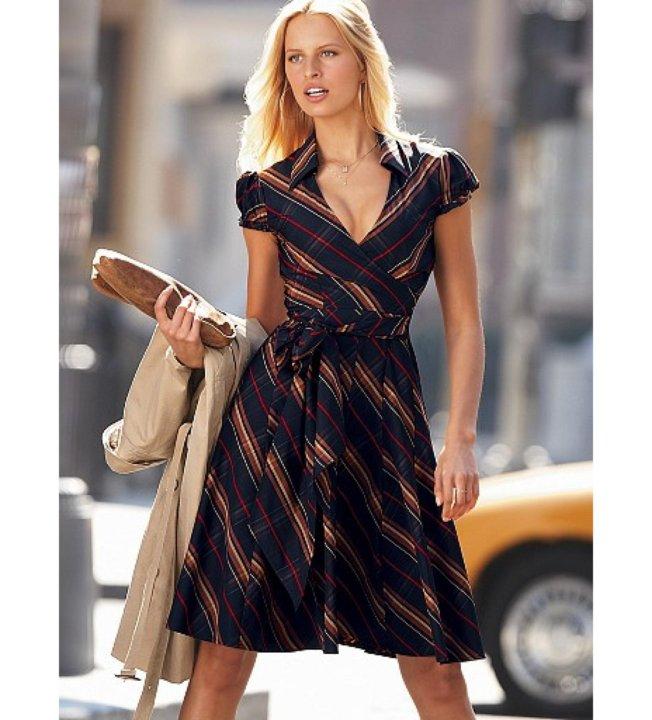 a814ddc16f2b8 Платье Victorias Secret в клетку на весну, запАх – купить в Москве ...
