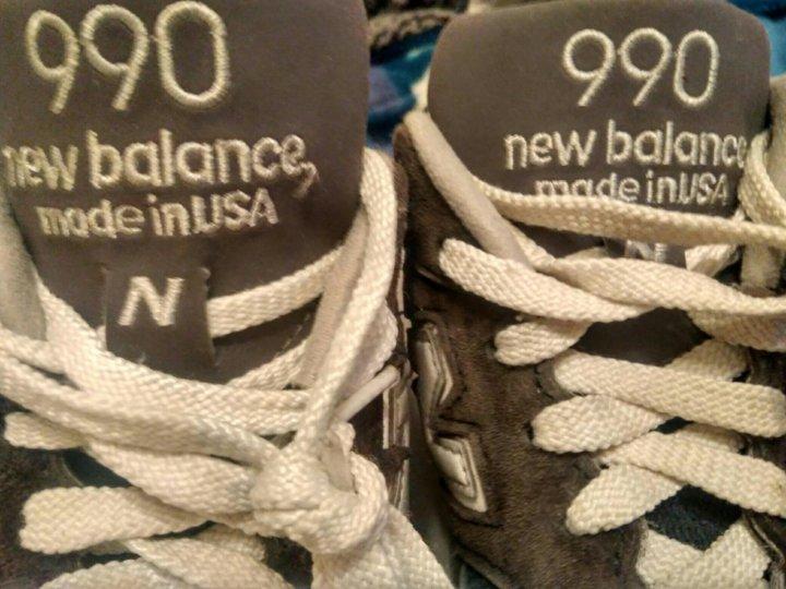 promo code 26d12 6ac05 New Balance 990 nv2 made in USA 9,5 us 43 eur б/у – купить в ...