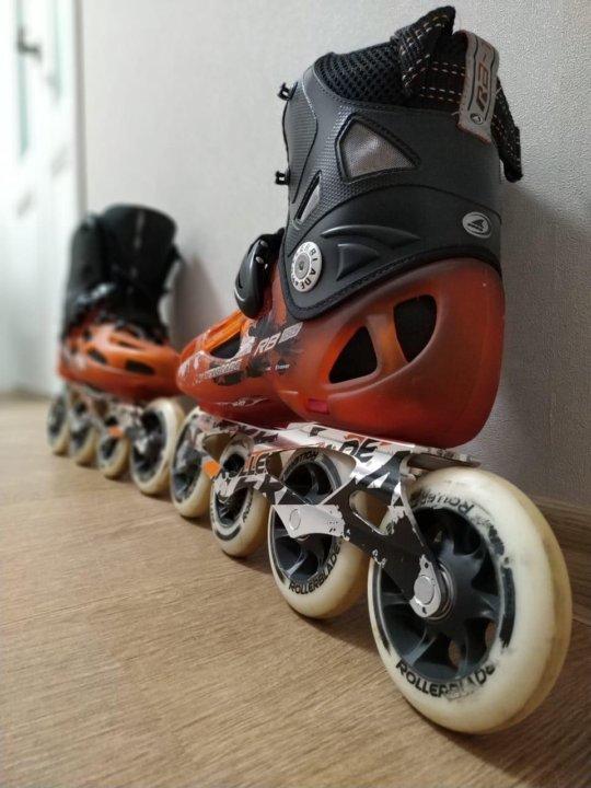bcacd1f670f206 Роликовые коньки Rollerblade RB 100 – купить в Красноярске, цена 8 ...