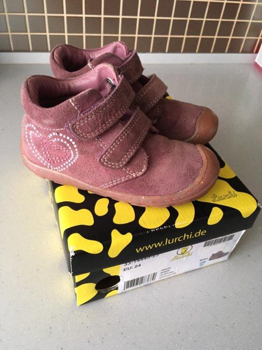 new product b4c45 e10c5 Демисезонные ботинки Lurchi ( salamander) 24 р – купить в ...