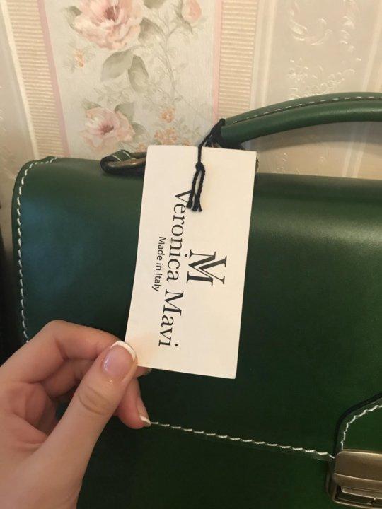 0156b3dbd960 ❗️Мужской новый кожаный Портфель Veronica Mavi – купить в Москве ...