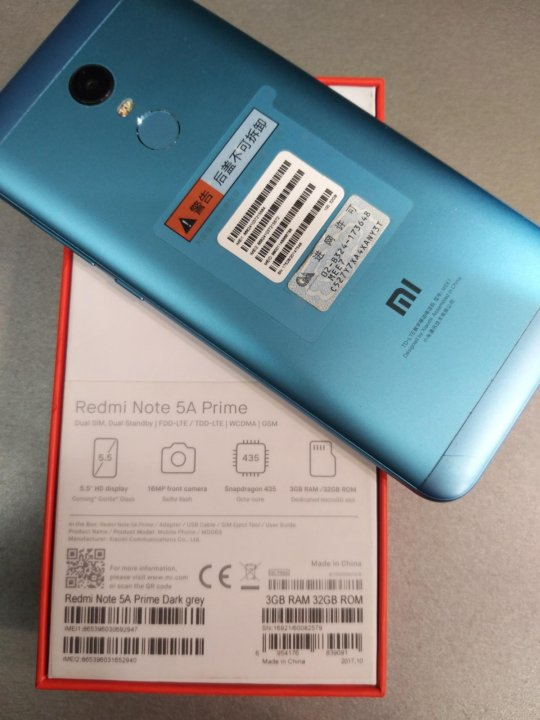 Xiaomi Redmi Note 5A – купить в Омске, цена 7 000 руб , дата