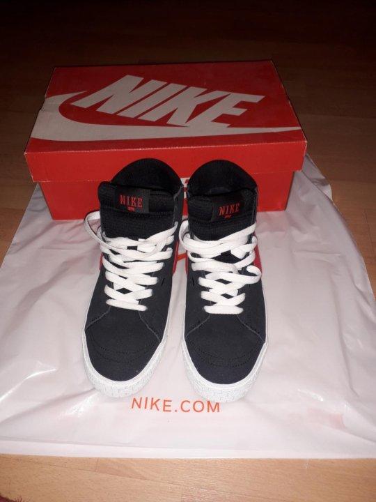 da4c9b2d Фирменные кроссовки Nike blazer mid L R – купить в Барнауле, цена 2 ...