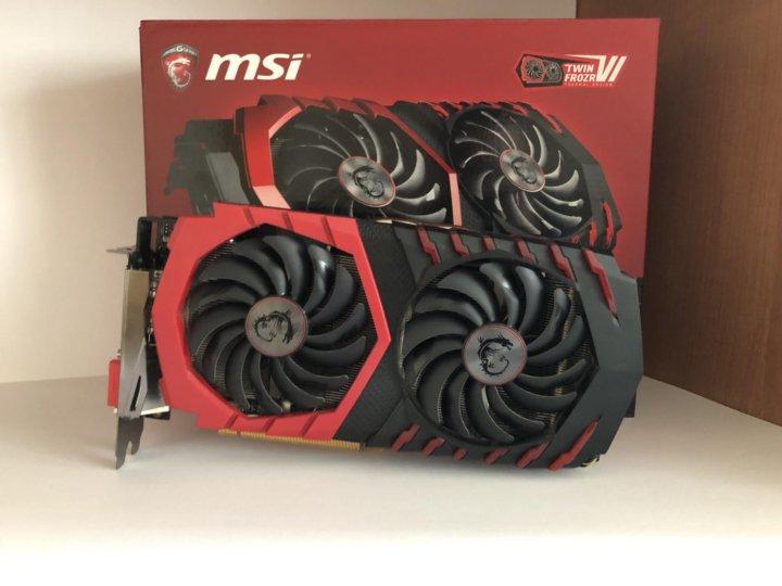 Видеокарта MSI Radeon RX 480 4gb – купить в Москве, цена 7