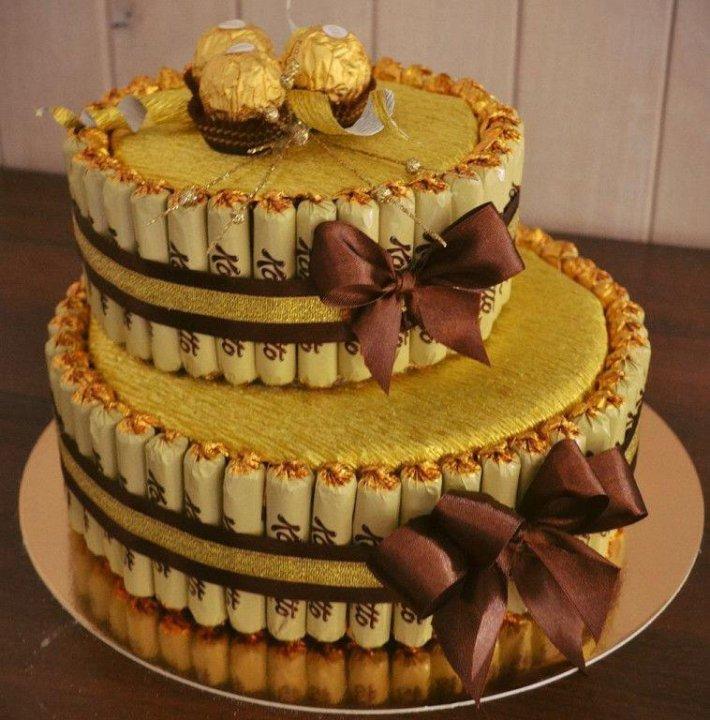 торт из конфет своими руками пошаговые фото каталоге представлен