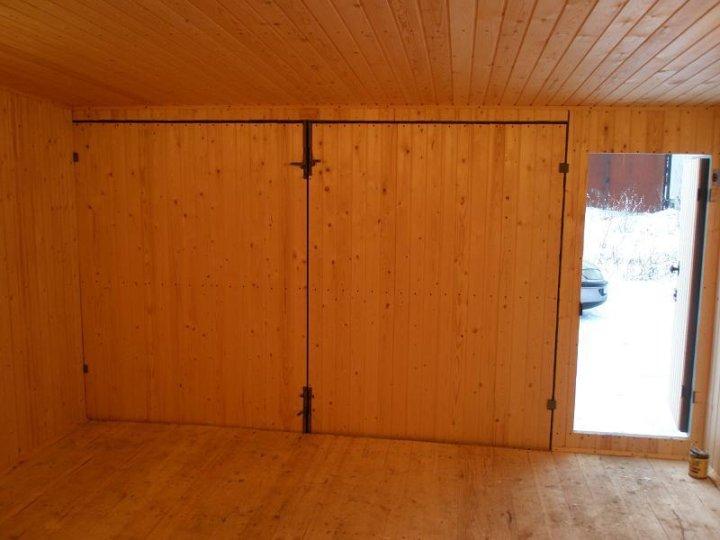 вывел отделка гаражных ворот изнутри фанерой фото школа