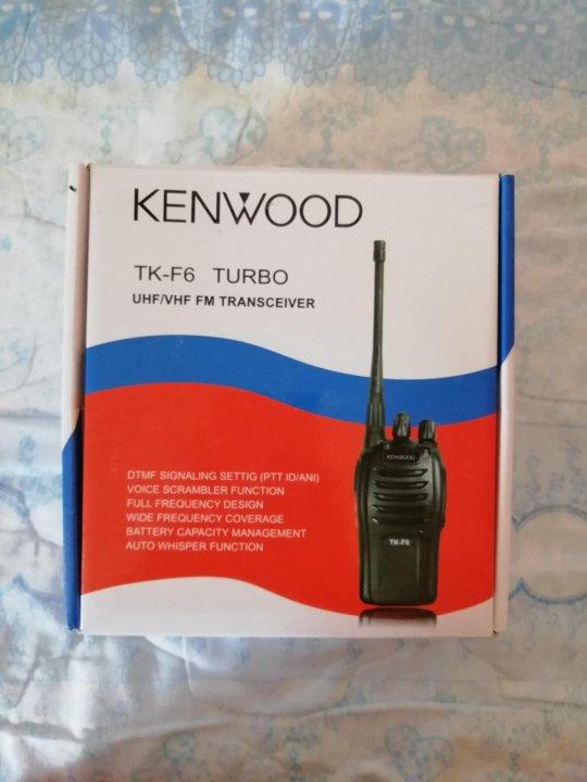 Рация KENWOOD TK-F6 TURBO – купить в Зеленограде, цена 1 000