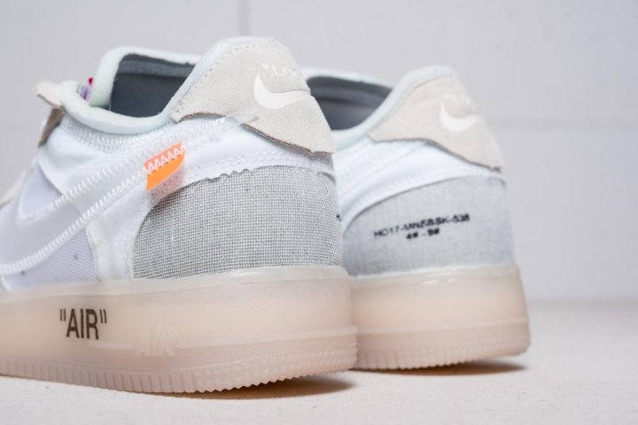 be1340f0 Омск. Кроссовки nike air force 1 low x off-white. Фото 3.