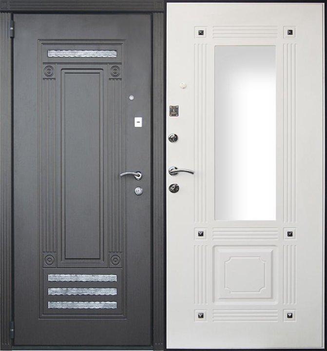 входная дверь с зеркалом купить
