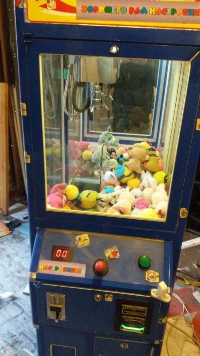 Автоматы с игрушками в москве