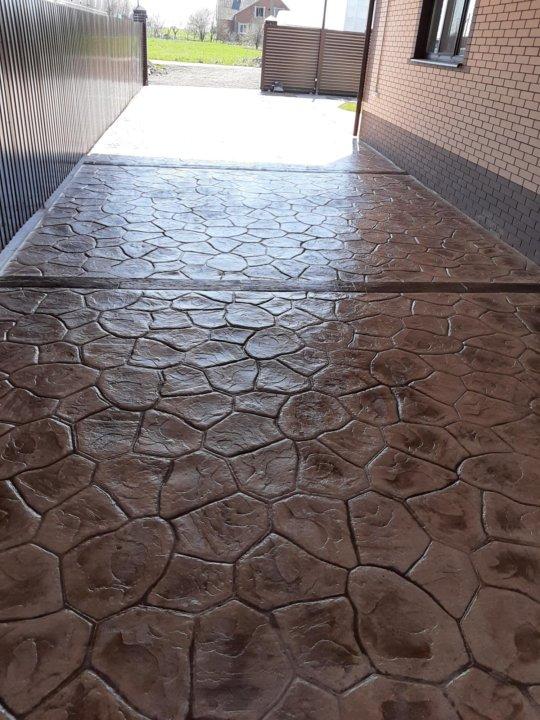 Штампованный бетон екатеринбург перевозка цементного раствора