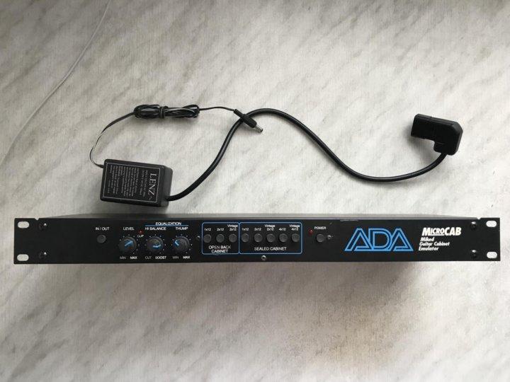 Кабсим ADA Microcab Guitar Cabinet Emulator – купить в