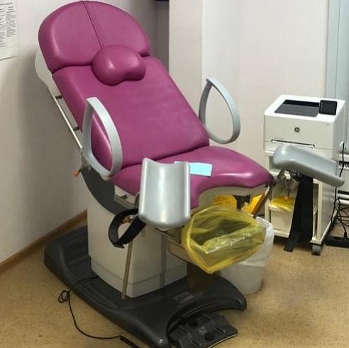 Зрелая самое интимное фото с гинекологического кресла хер