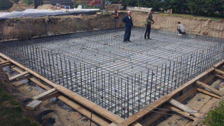 сколько стоит залить плиту фундамента