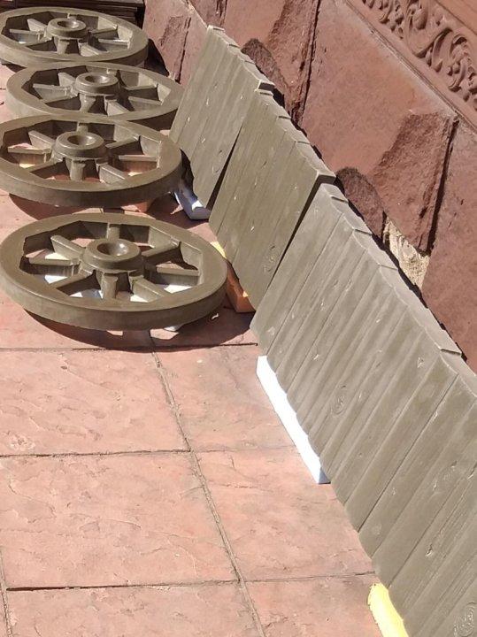 Телега из бетона акропол бетон