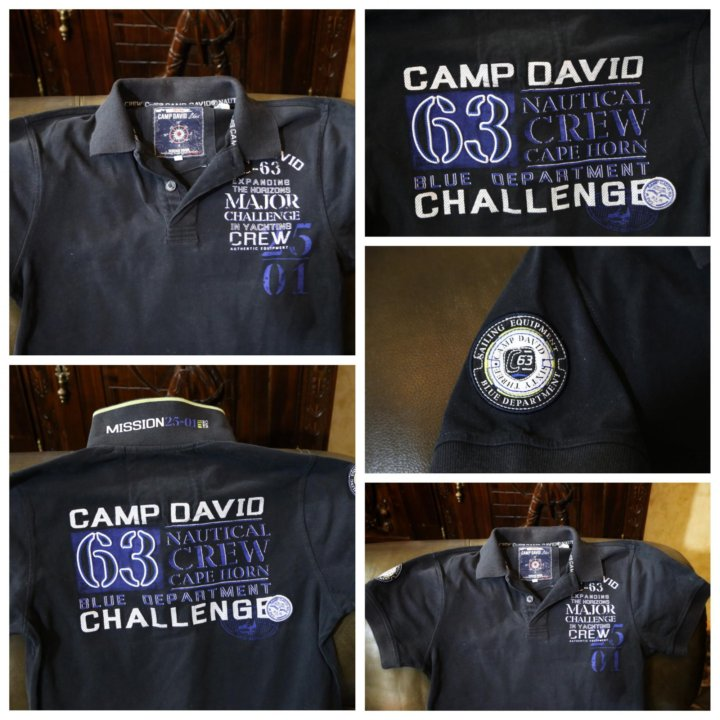 dirt cheap new product new arrival Изысканное поло от премиум бренда «Camp David » – купить в ...