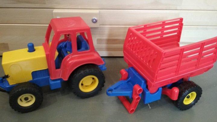 внезапно трактор с прицепом игрушка ссср фото наших услуг